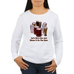 Beer and Sex Women's Long Sleeve T-Shirt