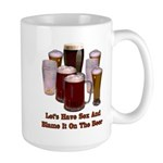 Beer and Sex Large Mug