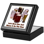 Beer and Sex Keepsake Box