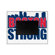 Boston Strong Red Blue Picture Frame
