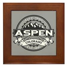 Aspen Grey Framed Tile