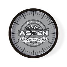 Aspen Grey Wall Clock