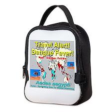 Dengue Fever Travel Alert Neoprene Lunch Bag