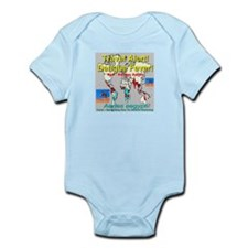 Dengue Fever Travel Alert Infant Bodysuit