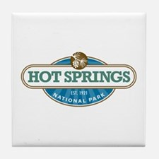 Hot Springs National Park Tile Coaster