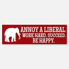 Annoy A Liberal Bumper Bumper Bumper Sticker