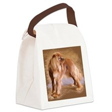 Cavalier King Charles Spaniel -Ru Canvas Lunch Bag