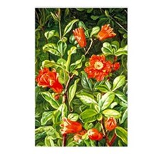 Flowers of the Pomegranat Postcards (Package of 8)