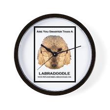 Unique Labradoodle Wall Clock