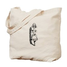 Stretched Alice Tote Bag