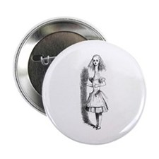 """Stretched Alice 2.25"""" Button"""