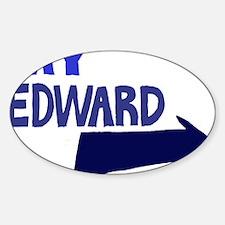 My Edward Sticker (Oval)