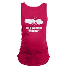 Weather Watcher Maternity Tank Top