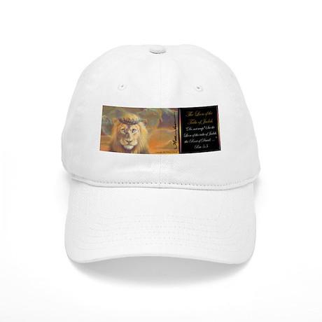 """""""Lion of Judah"""" Fine Art Christian Cap"""