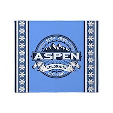 Aspen Blue Throw Blanket