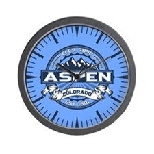 Aspen Blue Wall Clock