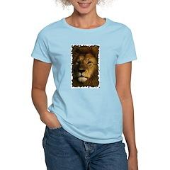 Vintage Lion Women's Pink T-Shirt