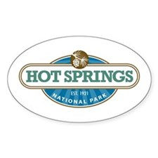 Hot Springs National Park Decal