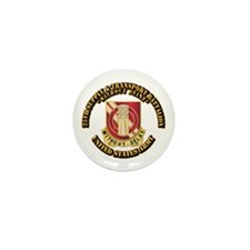 25th Supply & Transport Bn with Text Mini Button