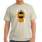 Lion Roar Ash Grey T-Shirt