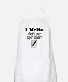 I Write What's Your Super Power? Apron