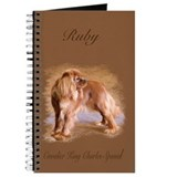 King charles cavalier Journals & Spiral Notebooks