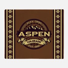 Aspen Sepia Throw Blanket