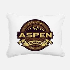 Aspen Sepia Rectangular Canvas Pillow