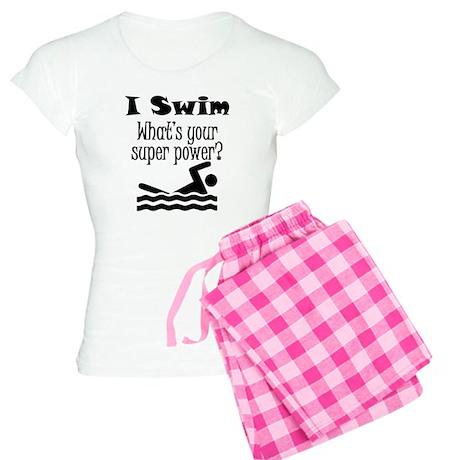 I Swim What's Your Super Power? Pajamas