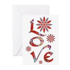 Love - Attraction Flower Greeting Cards (Pk of 20)