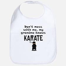 My Grandma Knows Karate Bib