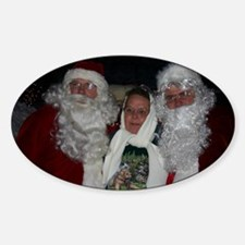 Roving Xmas Tree Santa's  Decal