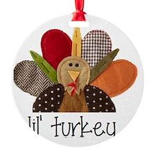 lil turkey Ornament