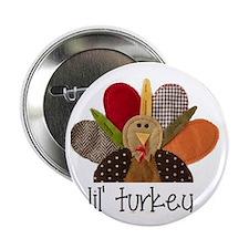 """lil turkey 2.25"""" Button"""