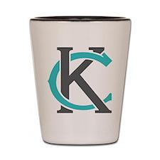KC Logo Shot Glass
