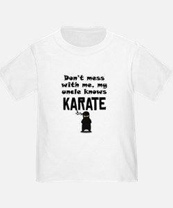 My Uncle Knows Karate T-Shirt