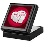 All My Love Broken Heart Keepsake Box
