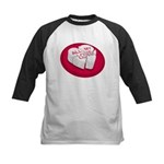 All My Love Broken Heart Kids Baseball Jersey