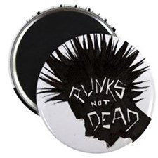 Punx In Solidarity Magnet