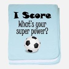 I Score (Soccer) What's Your Super Power? baby bla