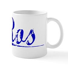 Ros, Blue, Aged Mug
