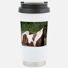 Horse with bird Travel Mug