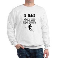 I Ski What's Your Super Power? Jumper