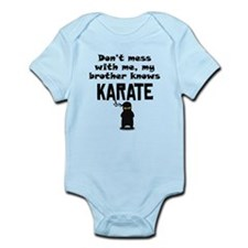 My Brother Knows Karate Body Suit