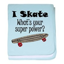 I Skate (Skateboard) What's Your Super Power? baby