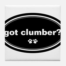 Got Clumber? Tile Coaster