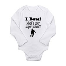I Bowl What's Your Super Power? Body Suit
