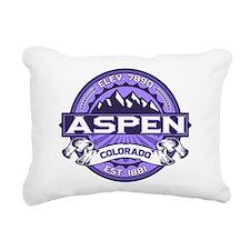 Aspen Violet Rectangular Canvas Pillow