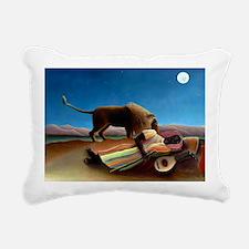 Laptop Rousseau Gypsy Rectangular Canvas Pillow