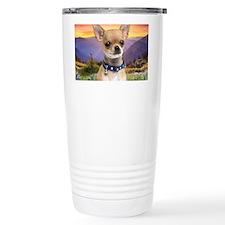 Chihuahua Meadow (blanket) Travel Mug